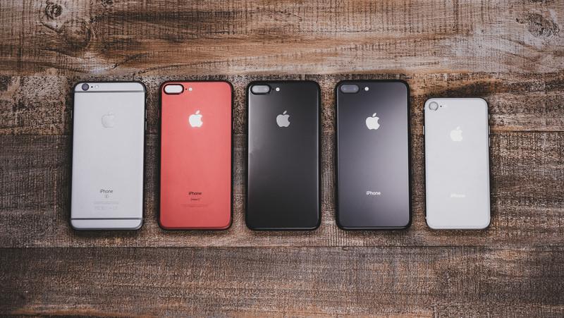 千葉市稲毛でiPhone修理するならモバファームイオンマリンピア千葉稲毛店のiPhone各機種イメージ画像